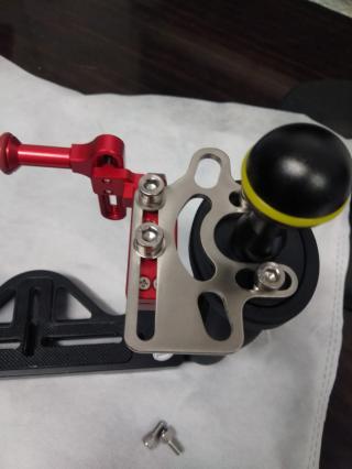 Sea frogs Base doble asa a bola de Aluminio TS7