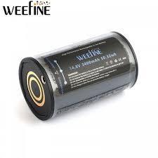 Weefine Bateria Weefine para Solar Flare y WFS02