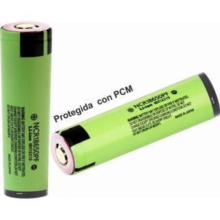 Aquas Bateria 18650 celda Panasonic 2900mAh