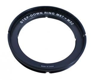 Fantasea Line Adaptador para carcasas de 67mm a lentes de 52mm