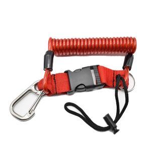 Sparkave Extensor Inox con cuerda Rojo RP01