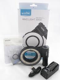 Weefine Ring Light 3000 de 67mm