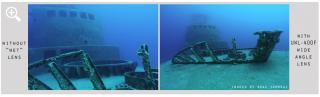 Fantasea Line Gran Angular Fantasea UWL-400F para lentes 24mm