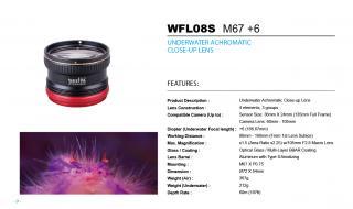 Weefine Lente de macro WFL08S +6