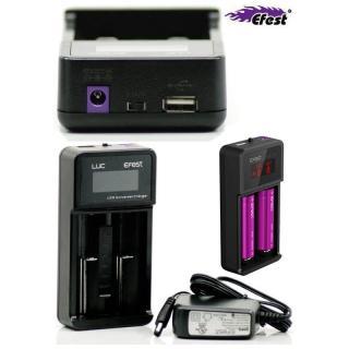 Aquas Multicargador litio Efest Luc V2