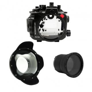Sea frogs Pack Sony A7RIII con Dry Dome y Puerto Plano