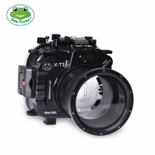 Sea frogs Pack Fujifilm X-T3 con Dry dome y Puerto plano