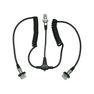 Sea frogs Cable electrico para doble flash 5Pin tipo Nikonos