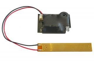 Detector de humedad con aviso para carcasas