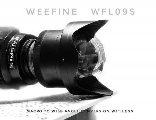 Weefine Lente macro gran angular WFL09S M67 y 0.32X